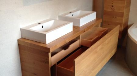 Doppelwaschtisch - Badezimmer vom Tischler