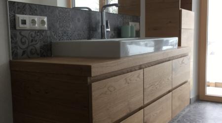 Unterbau bei Waschbecken - Badezimmer vom Tischler