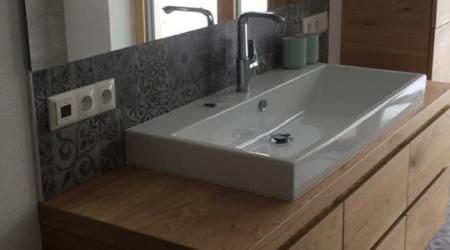 Waschbecken - Badezimmer vom Tischler